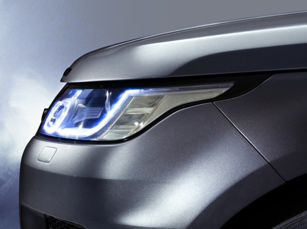 New Range Rover Sport lights