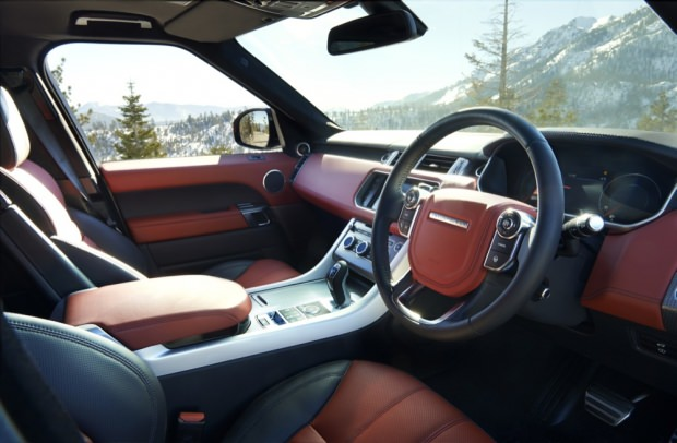 New Range Rover Sport interior