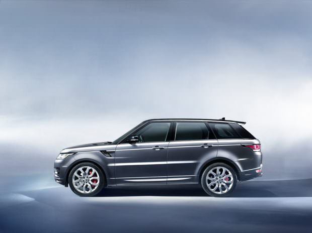 New Range Rover Sport side