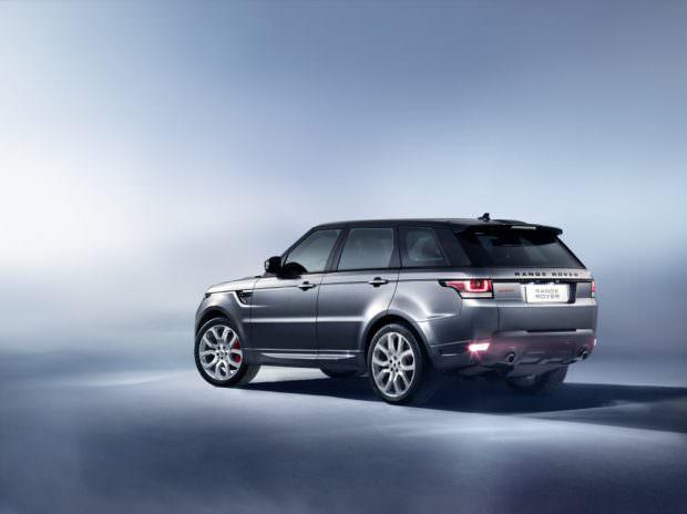 New Range Rover Sport rear studio