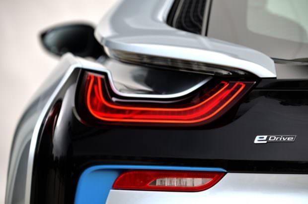 BMW i8 rear light