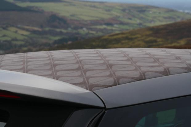 Citroen DS3 Cabrio roof design