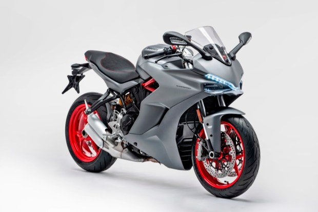 Ducati Supersport light details