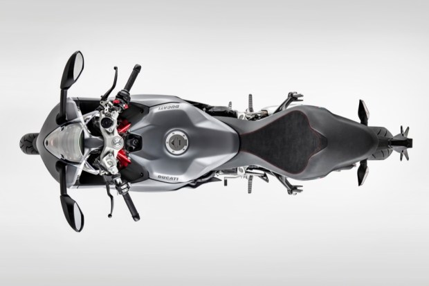 Ducati Supersport top down view