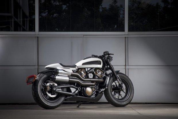 Harley-Davidson Custom 1250 rear angle