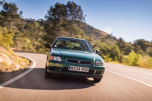 Honda Civic 1995 front driving