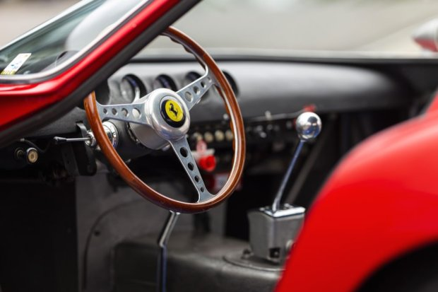 Ferrari 250 GTO steering wheel