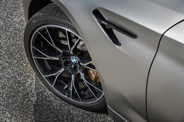 BMW M5 Competition front wheel
