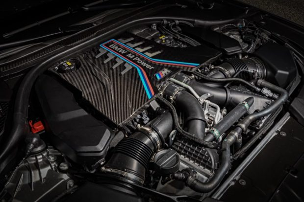 BMW M5 Competition engine