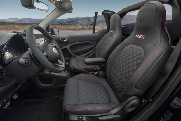 Brabus 125R seats