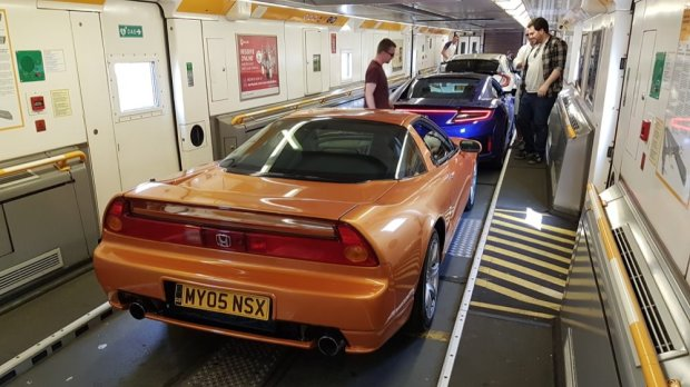 Honda NSX Channel Tunnel