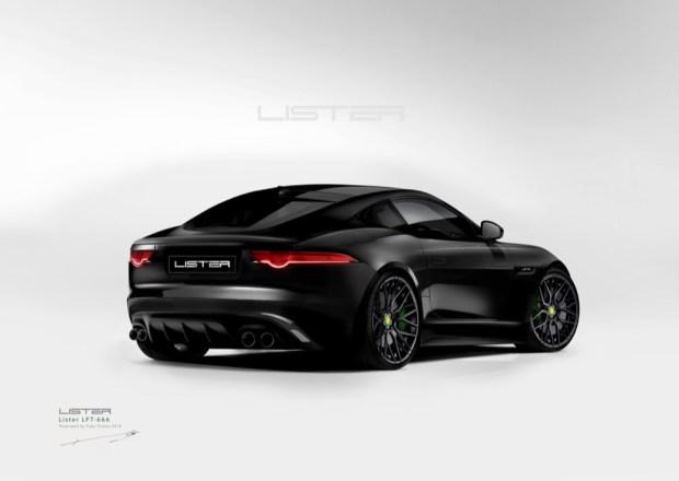 Lister LFT-666 rear view