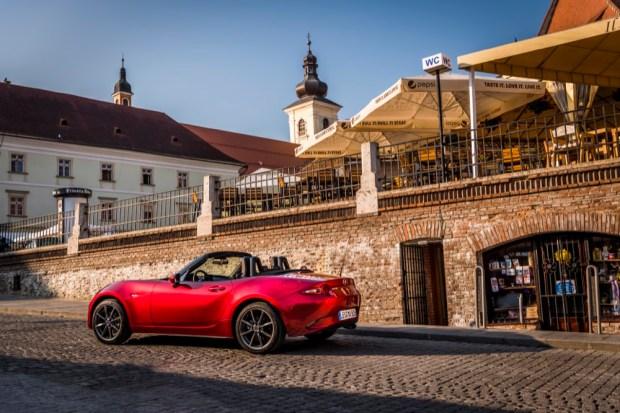 Mazda MX-5 in Romania