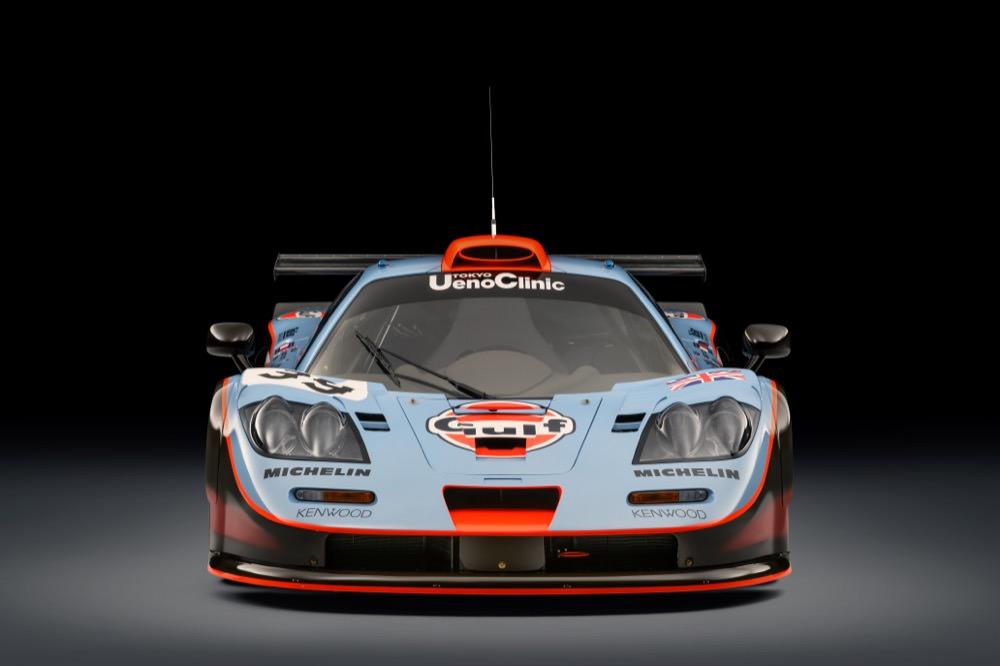 McLaren F1 GTR front view