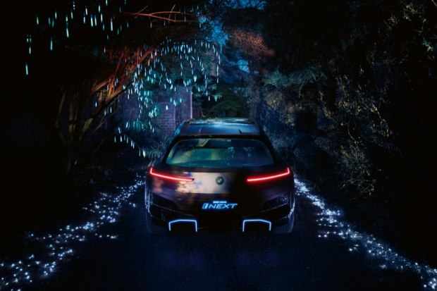 BMW Vision iNEXT rear