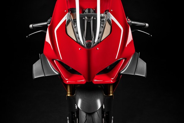 Ducati Panigale V4 R top view