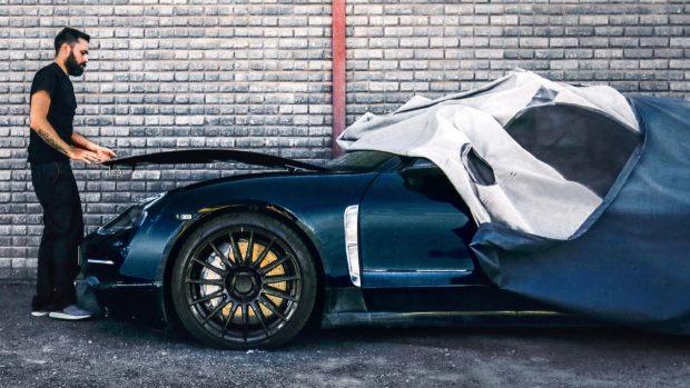 Porsche Taycan testing