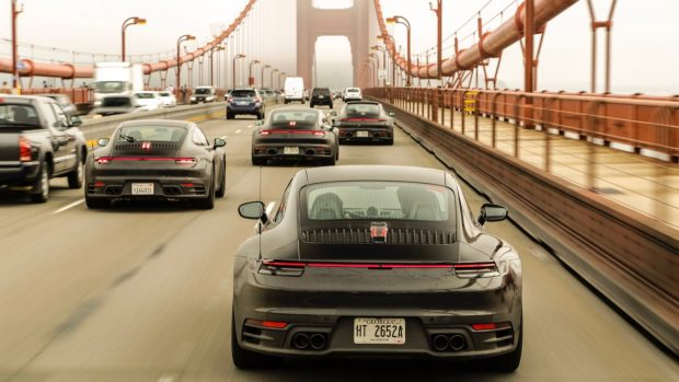 Porsche 911 testing