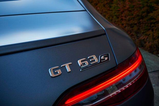 Mercedes-AMG GT four-door badge