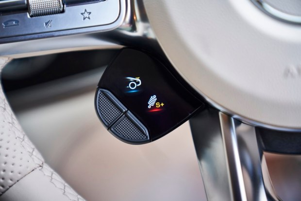 Mercedes-AMG GT four-door switchgear