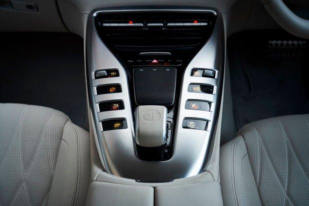 Mercedes-AMG GT four-door buttons