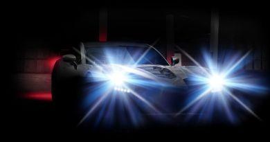 Headlight dazzle of new Ginetta car