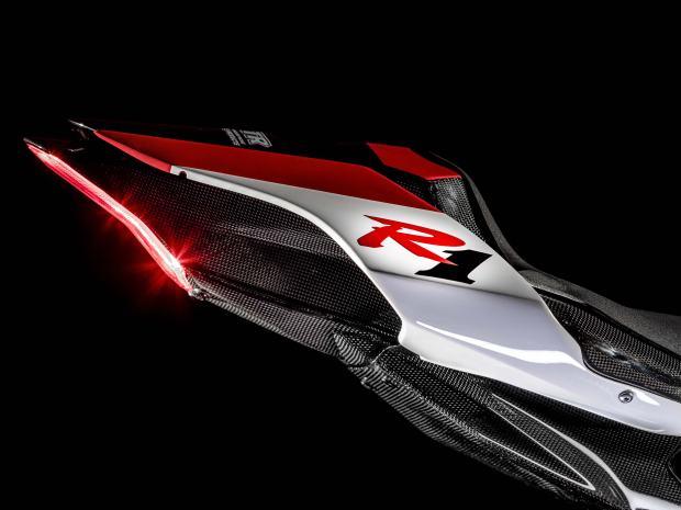 Yamaha YZF-R1 GYTR tail