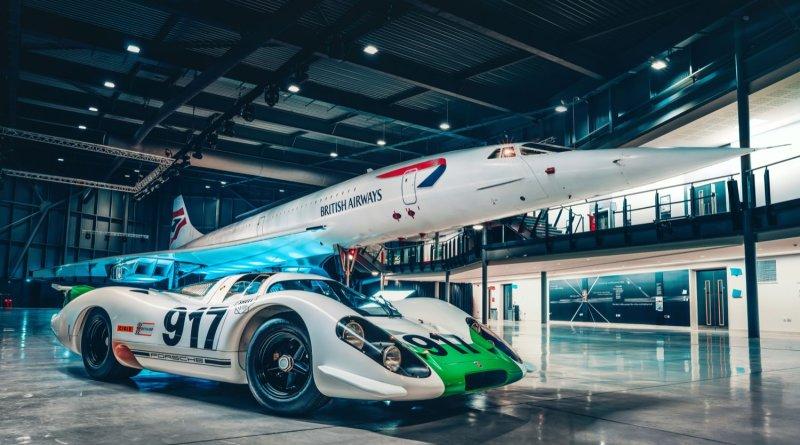 Porsche 917 and Concorde