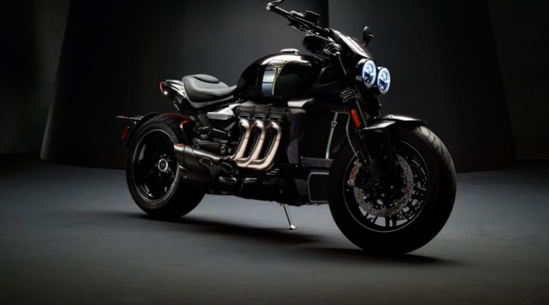Triumph Rocket 3 TFC front quarter view