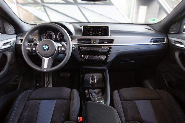 BMW X2 M35i interior