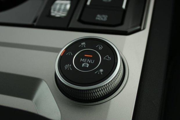Volkswagen Touareg drive modes