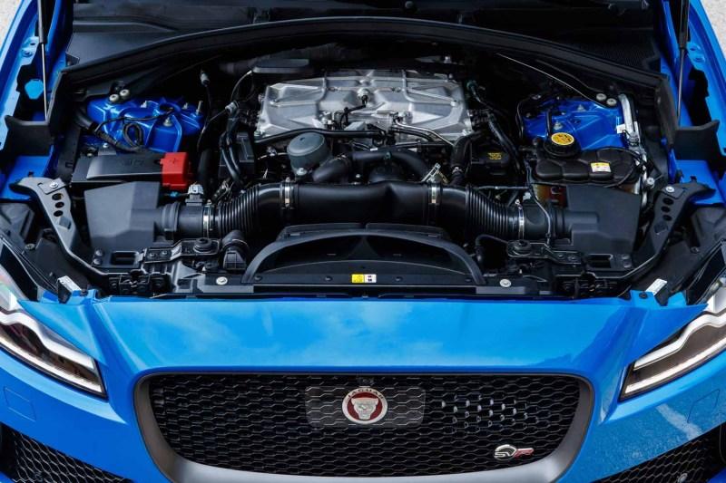 Jaguar F-PAce SVR engine