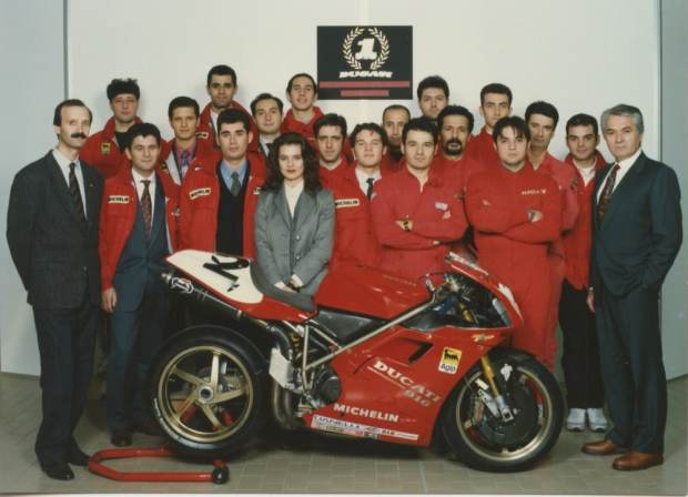Ducati 916 team