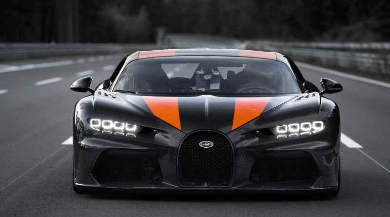Bugatti Chiron 300mph