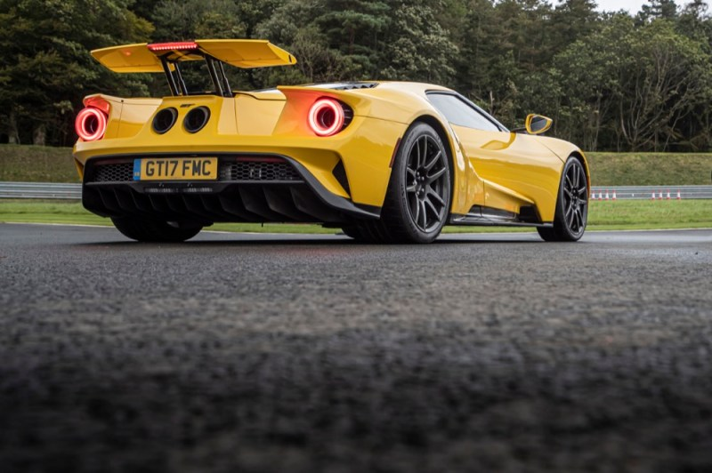 Ford GT rear view
