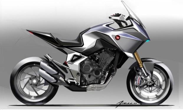 Honda CB4X Concept sketch