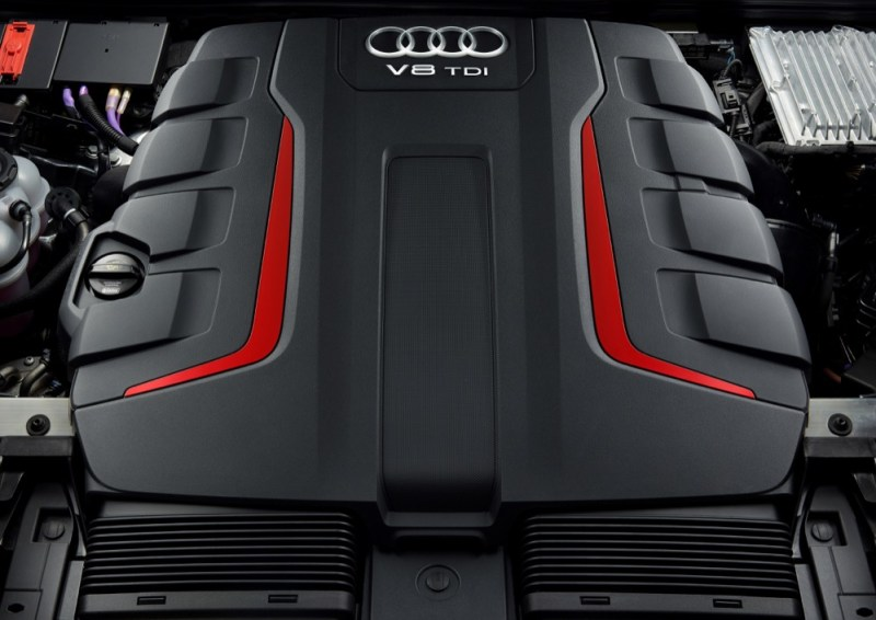 Audi SQ8 engine