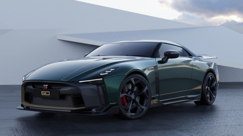 Nissan GT-R50 by Italdesign green