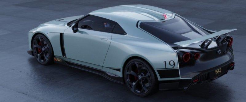 Nissan GT-R50 by Italdesign rear