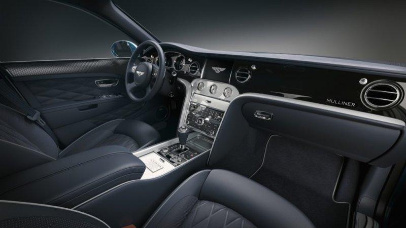 Bentley Mulsanne 675 Edition interior