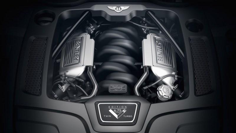 Bentley Mulsanne 675 Edition engine