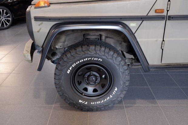 Mercedes G-Wagen Lorinser wheels