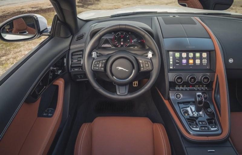 Jaguar F-Type MY21 interior