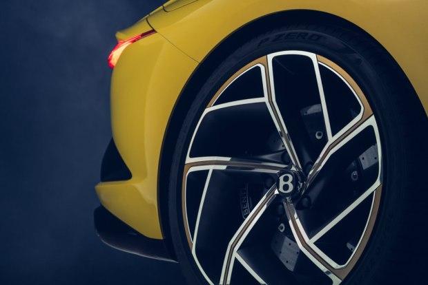 Bentley Bacalar wheel