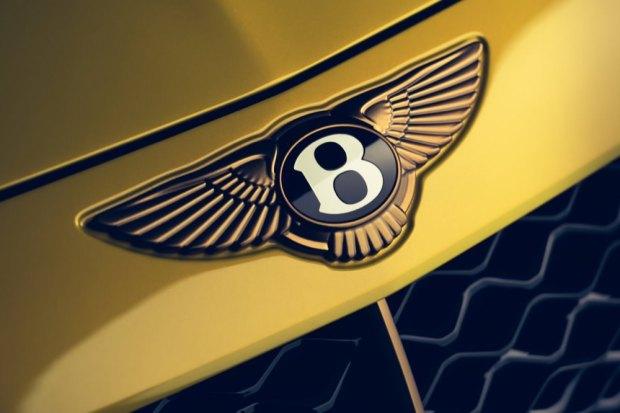 Bentley Bacalar badge