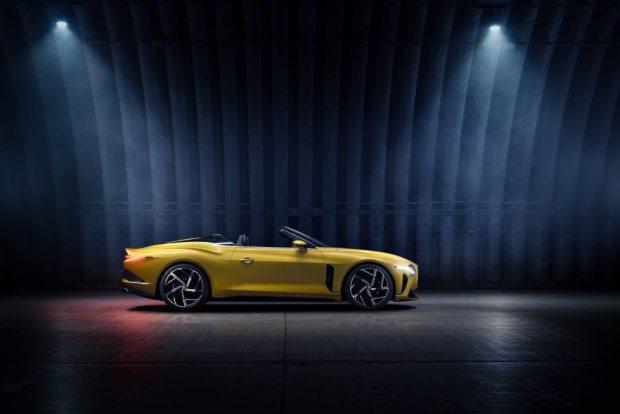 Bentley Bacalar side view