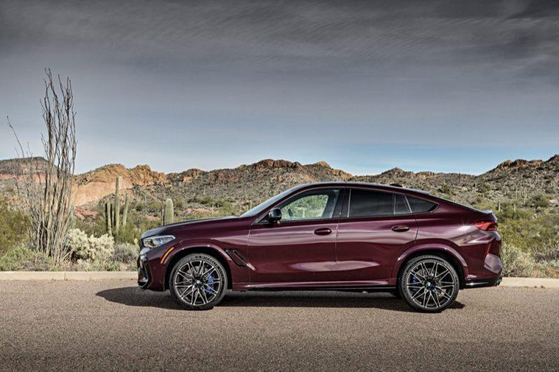 BMW X6M side view