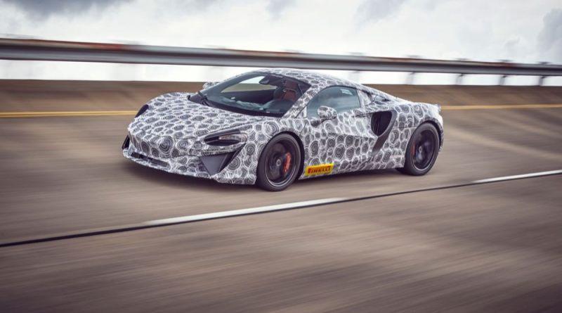 New McLaren Hybrid