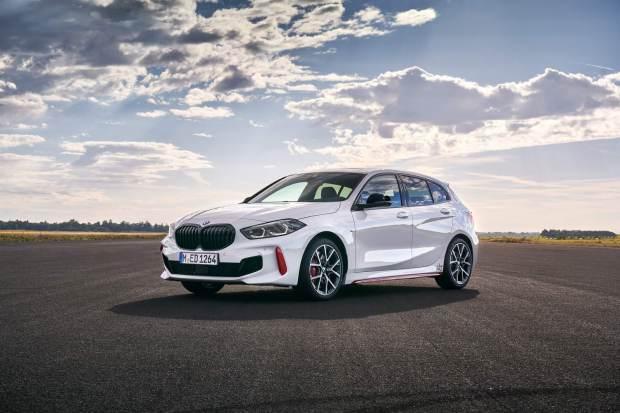 BMW 128ti front quarter