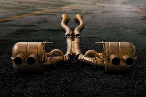Novitec Monza inconel exhaust